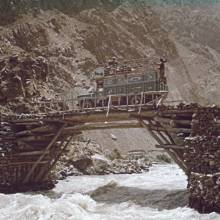 Transport do doliny Ischmur. Hindukuš 1965