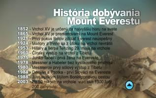 História dobývania Mount Everestu