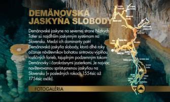 8. Demänovská jaskyňa slobody