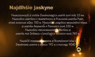 17. Najdlhšie jaskyne Slovenska