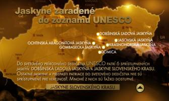 4. Jaskyne zaradené do zoznamu UNESCO