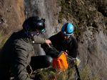 Prvozostup jedným z najvyšších vodopádov